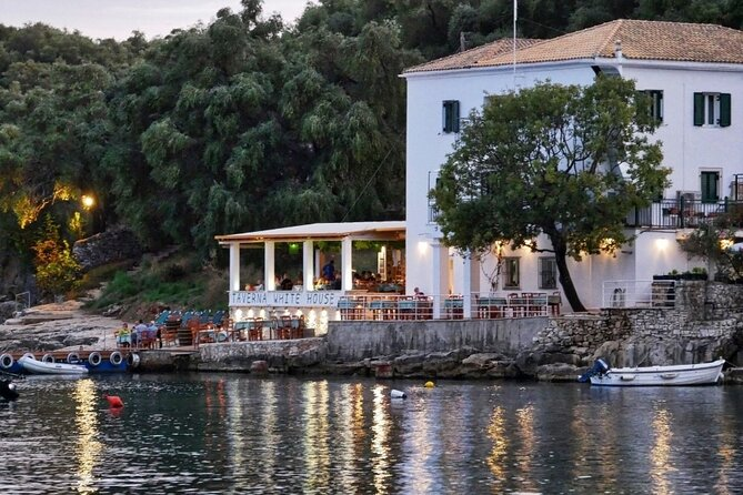 Full-Day Durrells by The Sea Cultural Boat Tour from Corfu