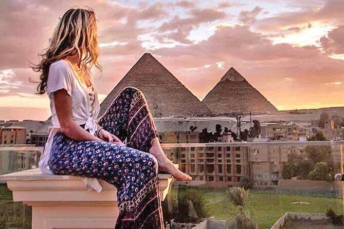 Giza pyramids ,sphinx ,ATV bike ,camel ride ,shopping tour & dinner show