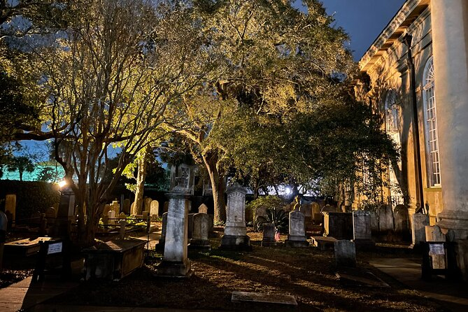 Guided Walking Ghost Tour in Charleston