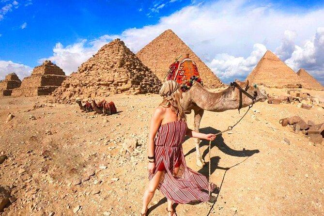 Camel Ride and Quad Bike Around the Gate of Giza Pyramids
