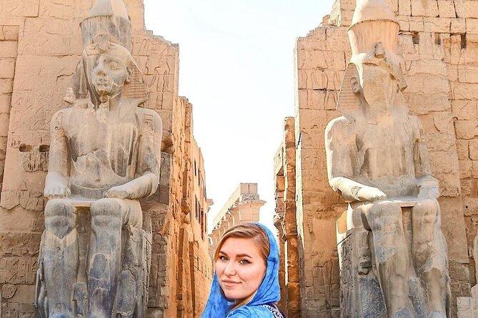 Full-Day Luxor Tour fra Cairo med fly