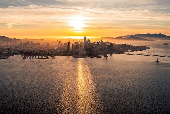 San Francisco Sunset Flight Tour