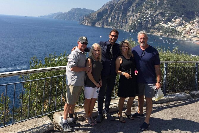 Private Full-Day Amalfi Coast Driving Tour by Luxury MiniVan