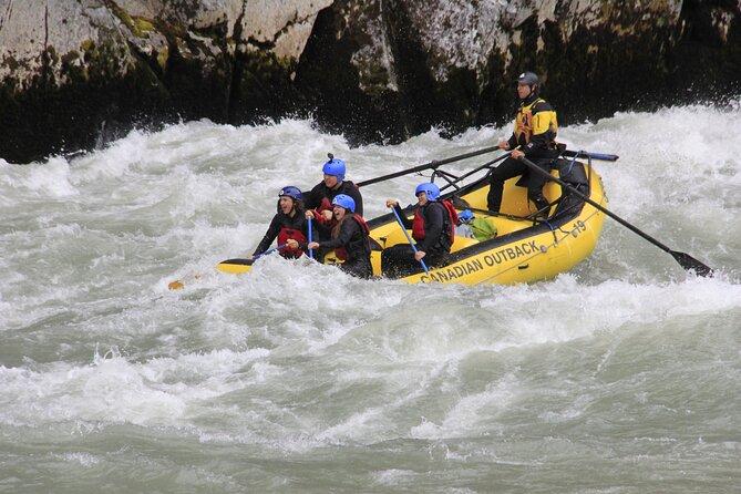 Wet and Wild Elaho Exhilarator Rafting- Squamish