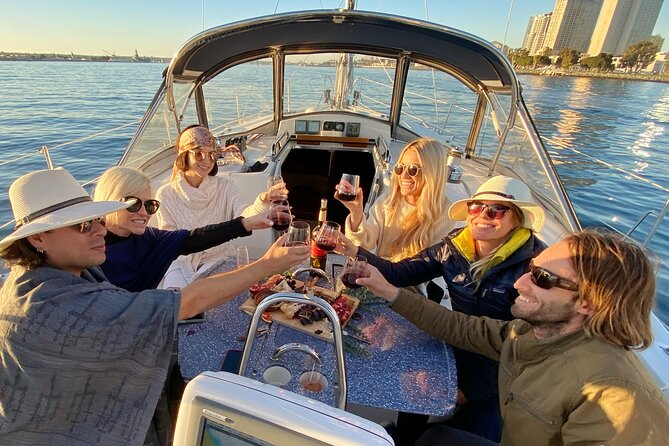 Private 3-Hour Sunset Sailing Cruise in San Diego Bay