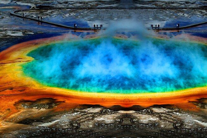 Tour privato del Parco Nazionale di Yellowstone per l'intera giornata