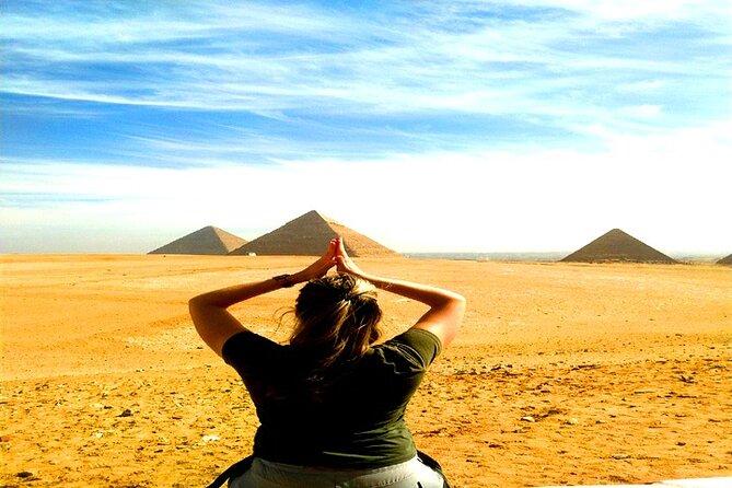 Private Unique Tour:Skip the Line into Giza Pyramids,Sphinx,Sakkara, Tombs