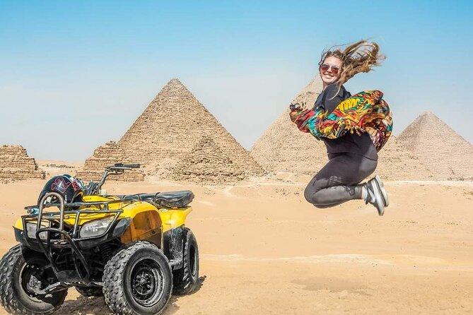quad bike ATV ride around Giza pyramids