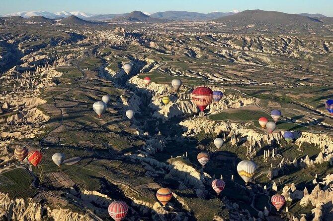 Hot Air Balloon Sunrise Flight over Cappadocia