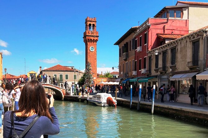Full-day excursion to Murano, Burano and Torcello from Venice Train Station