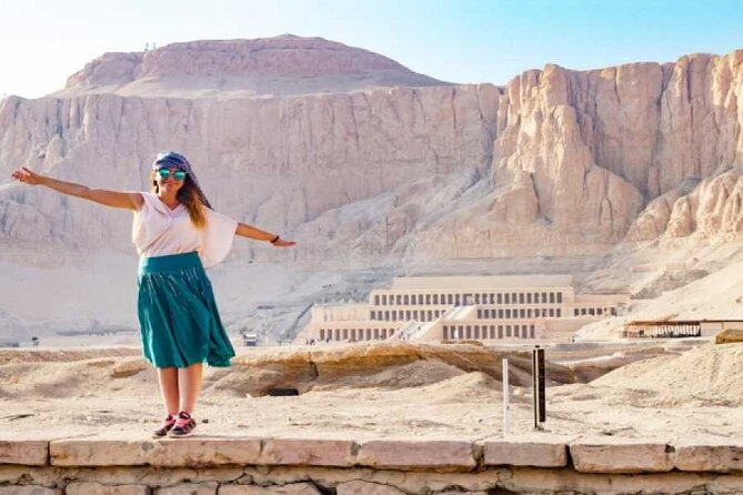 4-hour private tour of the Valley Kings and Queen Hatshepsut Temple in Luxor