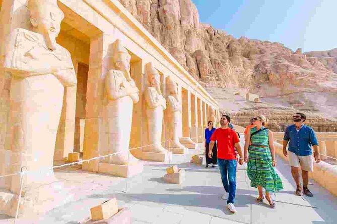 4 Stunden Private Tour Westjordanland Hatscheput Tempel und Tal des Königs in Luxor
