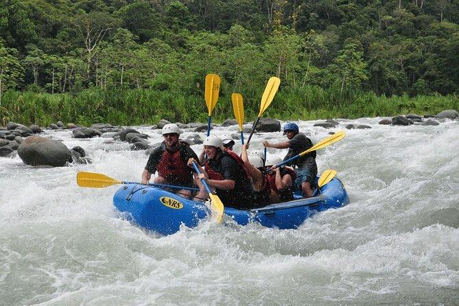 Manuel Antonio National Park White Water Rafting at Savegre River