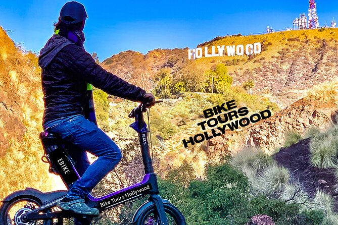 Hollywood E-Bike Private Tour with Fun Nature Walk in Griffith Park