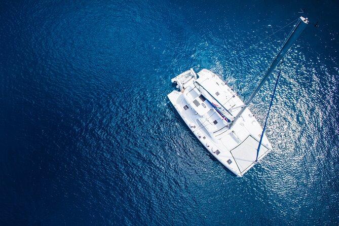 Premium Catamaran Full-Day Cruise from Nikiti