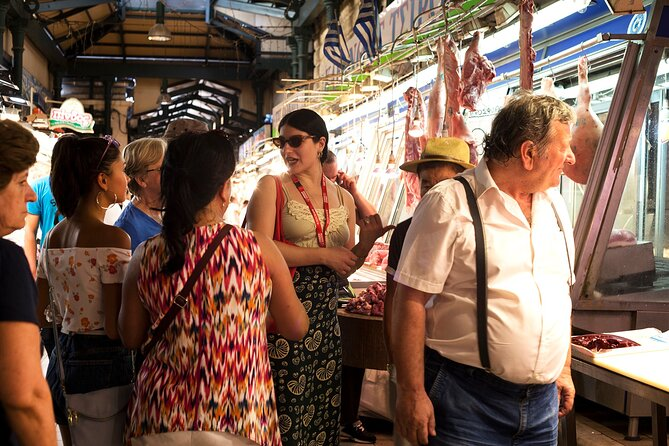 Athens Markets and Chronicles Private Tour