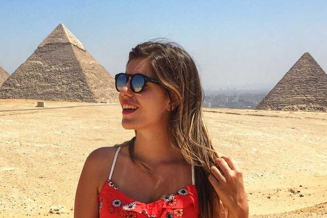4 Hours private Giza Pyramids ,Sphinx ,lunch and camel ride from Cairo or Giza