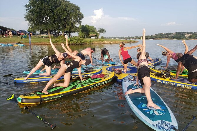 4-Hour Full Moon SUP Experience in Argyle, Texas