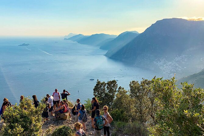 Private Guided Hike with Boat Trip in The Path of The Gods