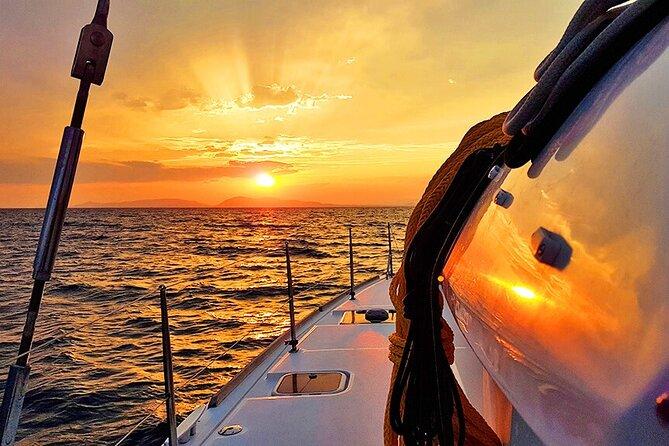 Private Sunset Catamaran Cruise from Nikiti