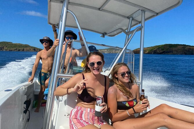 Full Day Power Boat Snorkeling and Sightseeing Excursion in St. John
