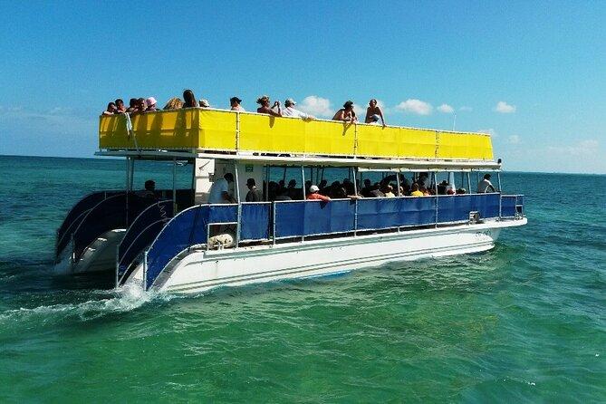 Isla Mujeres Catamaran Unlimited with transportation from Playa del Carmen
