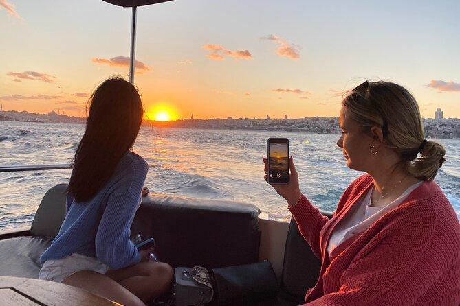 Sunset Cruise on Luxury Yacht Istanbul Bosphorus