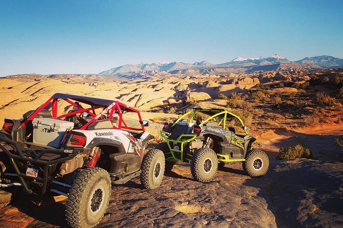Sunset ATV Tour and Trail Experience in Hell's Revenge