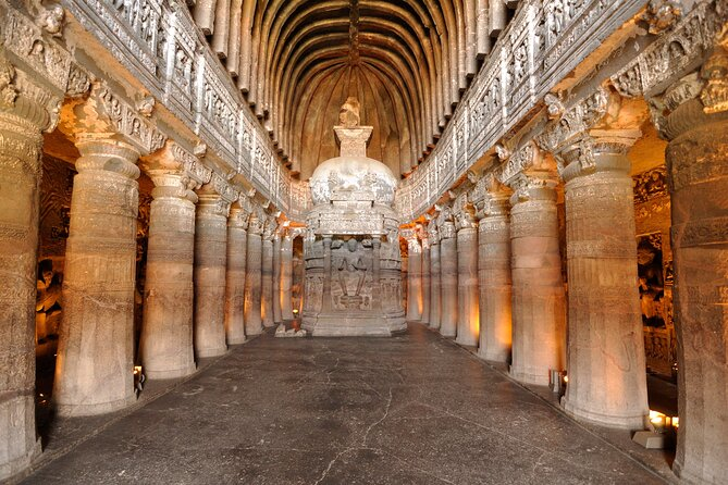 Aurangabad to Ajanta Caves Excursion Sightseeing with Monuments Entrances
