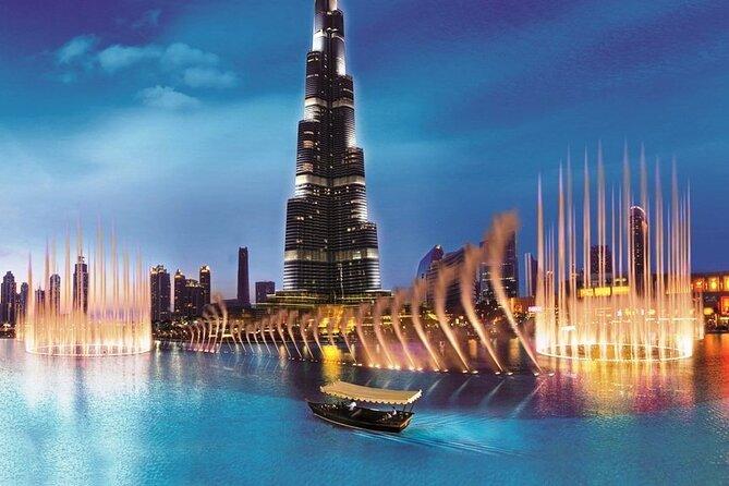 Boat Ride Admission to Dubai Fountain at Burj Khalifa Lake