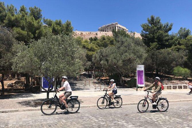 Recorrido en bicicleta eléctrica por la Acrópolis de Atenas