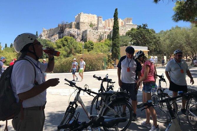 Shore Excursion: Athens Sights & Food eBike Tour
