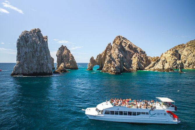 Luxury Snorkel & Lunch Cruise on Cabo Wave