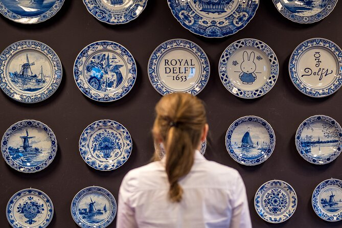 Royal Delft: Delftblue factory & museum ticket