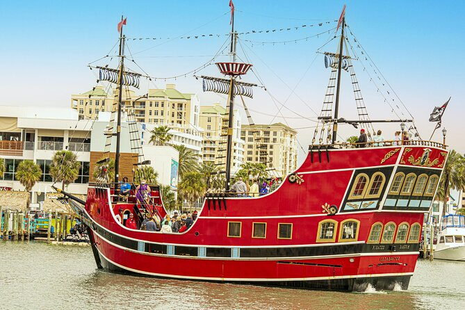 Clearwater Beach Pirate Cruise Adventure with Lunch & Transport From Orlando