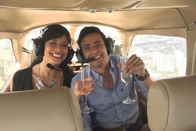 45-Minute Exclusive Sunset Air Tour with Champagne for Two