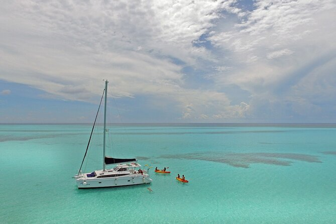 Exclusive Champagne Catamaran Sail & Snorkel