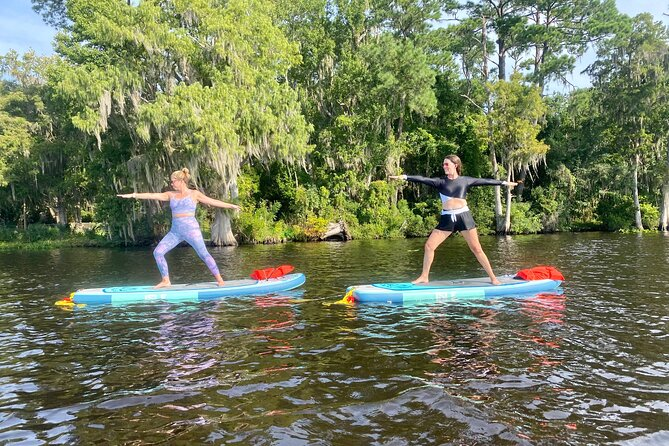 Stand Up Paddle Board Yoga Class in St. Augustine