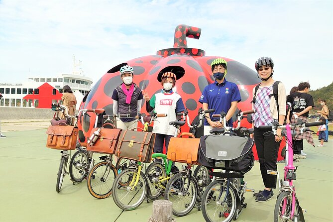Full Day Art Island Naoshima Brompton Bicycle Tour