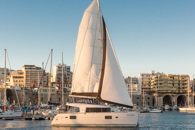 Luxe cruise - day sailing trip in small group, Crete