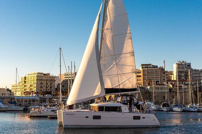 Comfort cruise - sailing boat trips from Heraklion, Crete