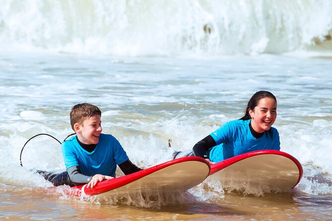Learn to surf with Albufeira's original surfing school - fun and easy classes