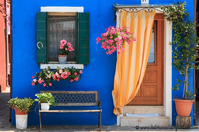 Full-day Murano and Burano Boat Tour from Venice Train Station