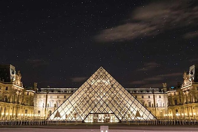Louvre under the Stars After Hours Museum Small Group Guided Tour