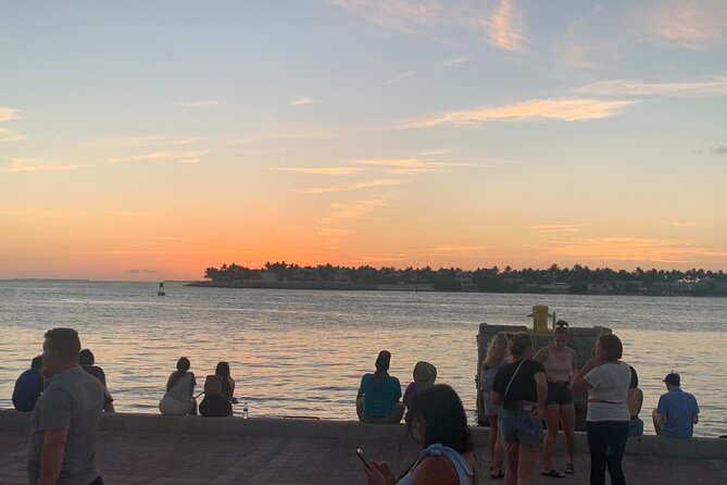 Key West Waterfront Cocktail Walk to Mallory Square's Sunset Celebration!