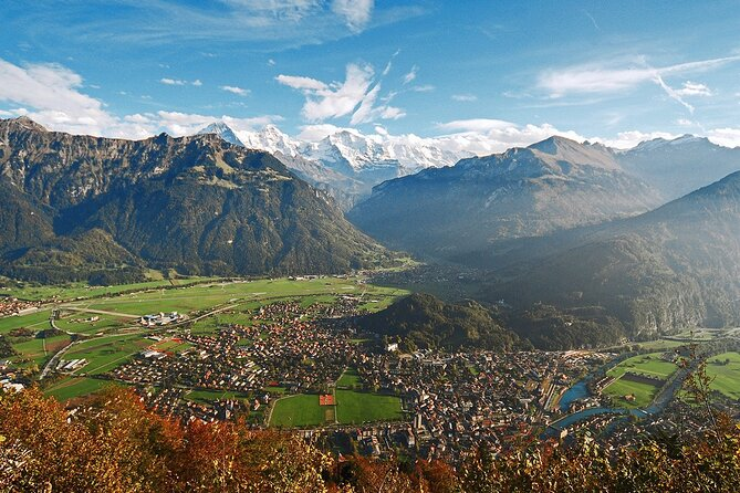 Self-Guided Tour to Interlaken from Zurich with a Driver