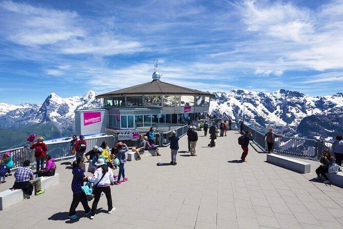 Full-Day Tour to Schilthorn and Interlaken from Zürich