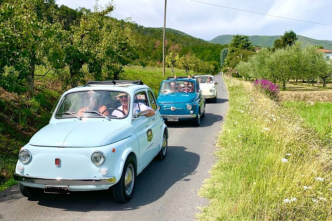 Vintage Fiat 500 Rental for One Day in Lucca