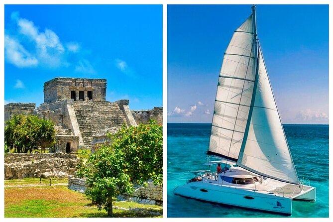 2-Day Combo: Isla Mujeres Sailing And Tulum Mayan Ruins