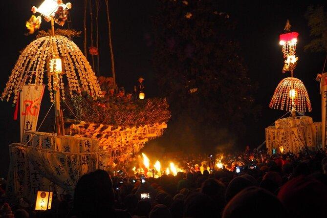 (Jan-15 Only) From Hakuba & Nagano: Snow Monkeys & Nozawa Fire Festival Tour